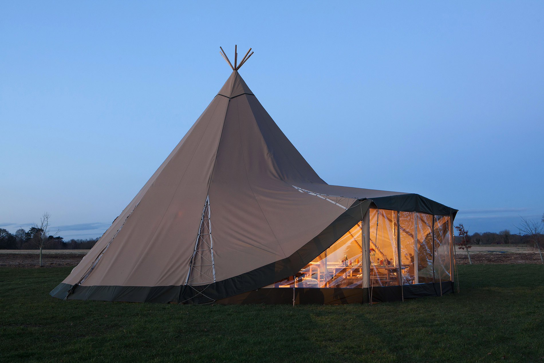 Tipi Window Extensions