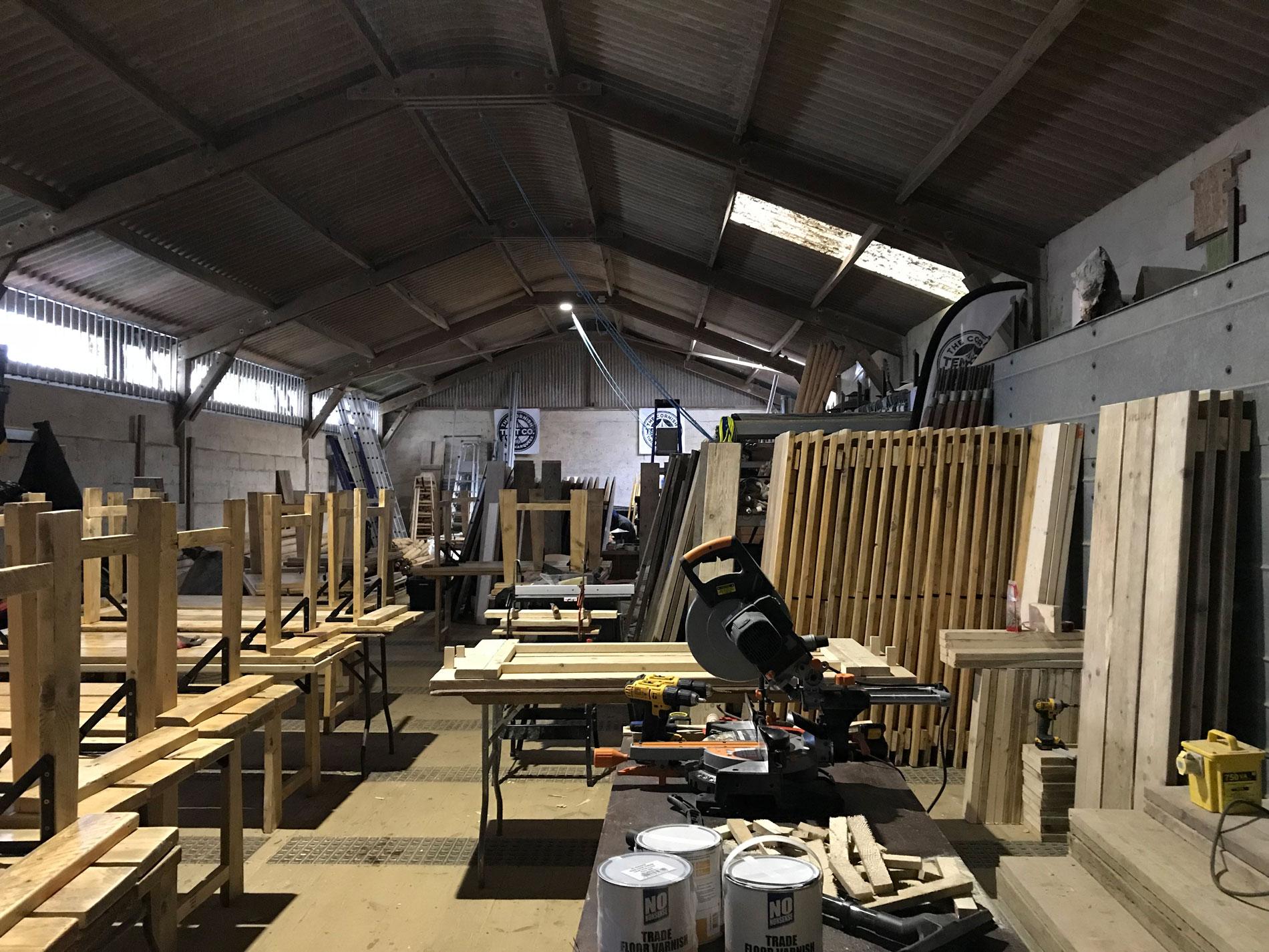 wood factory line