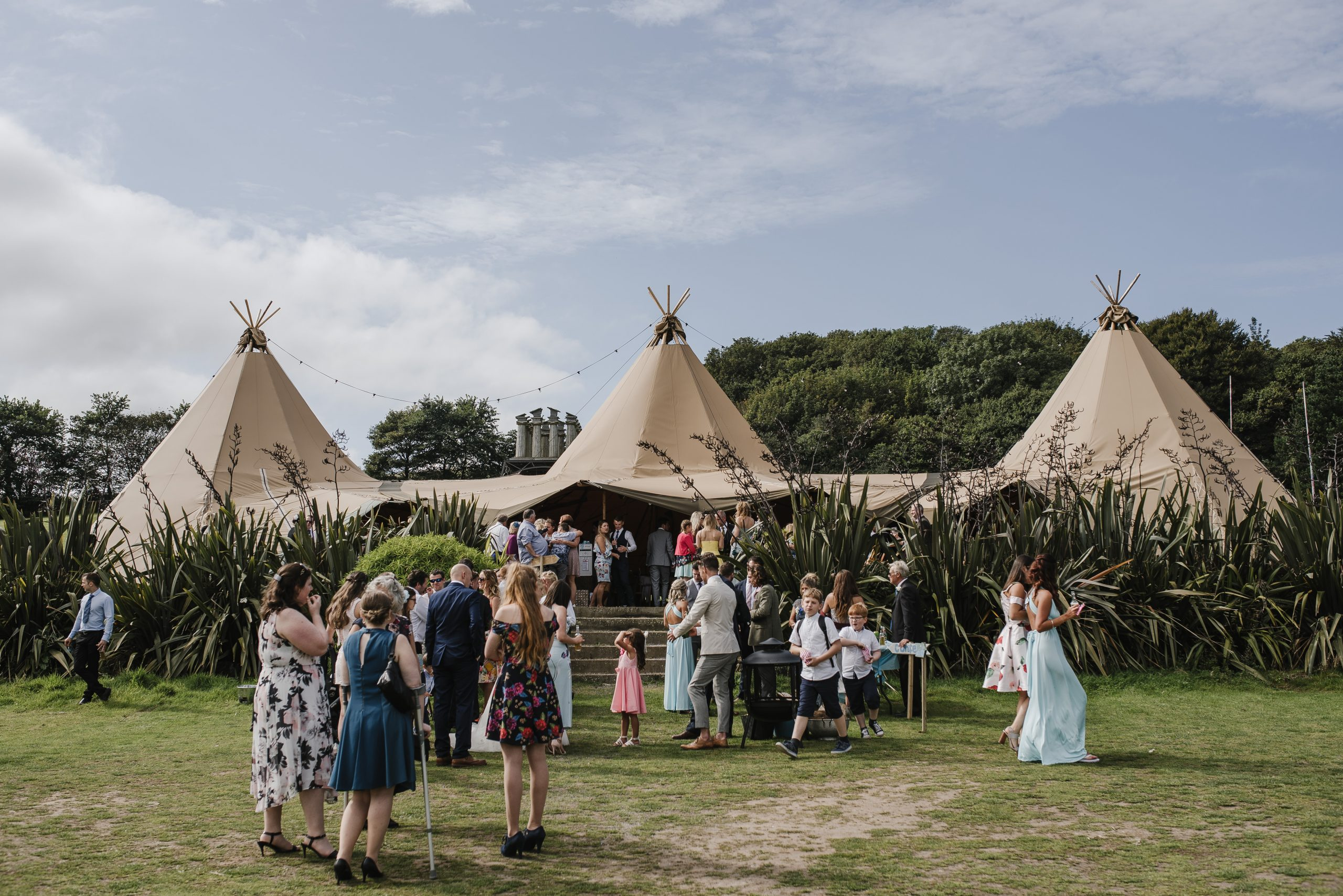 Tipi wedding event
