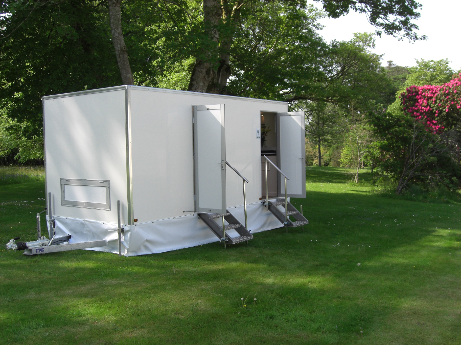 Toilet Hire in Cornwall