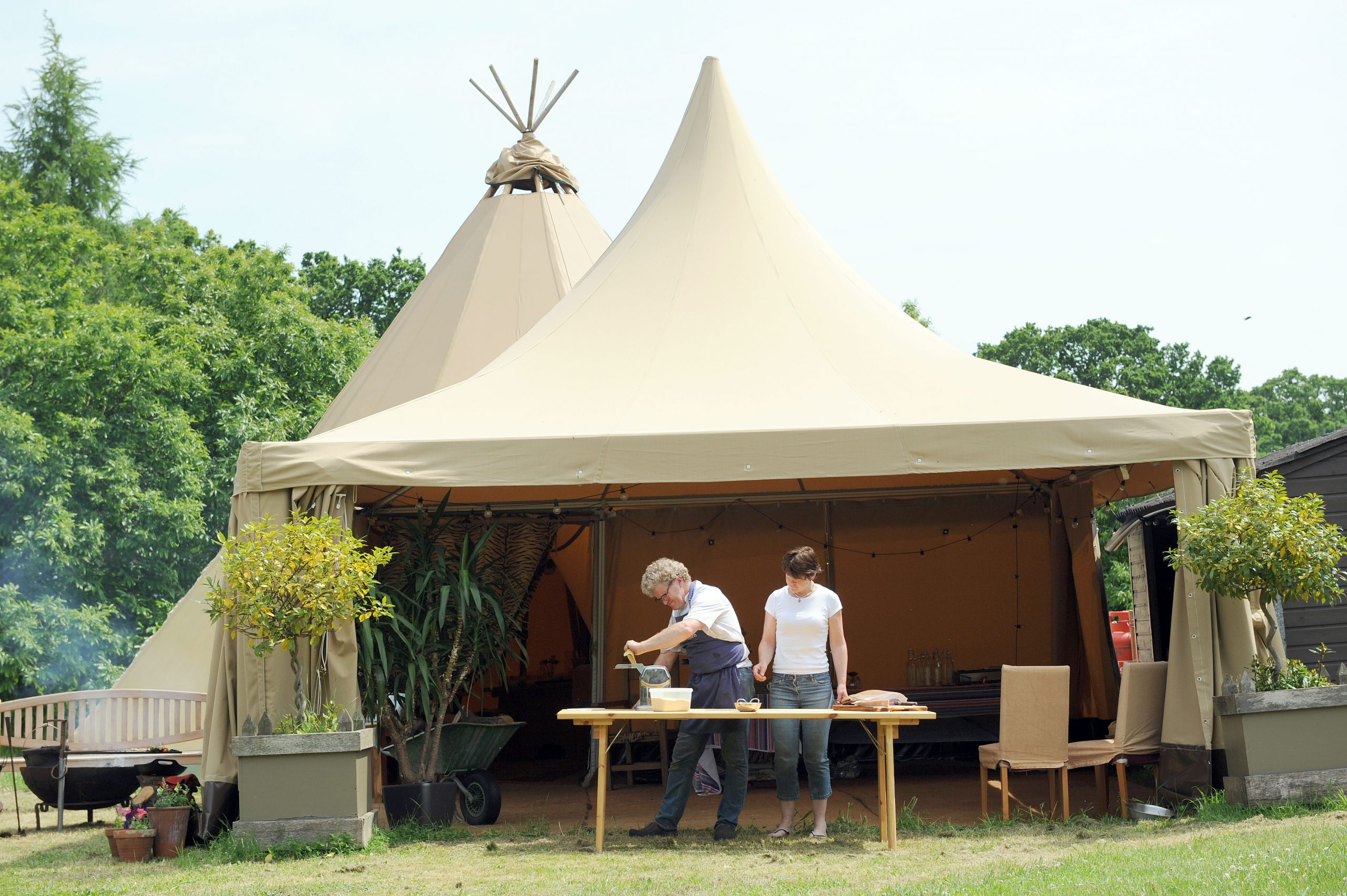 Pagoda Catering Marquees